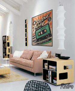 Wystrój pokoju - Modern vintage